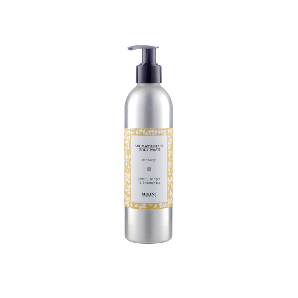 Body Wash -  Recharge - Lemon, Ginger & Lemongrass
