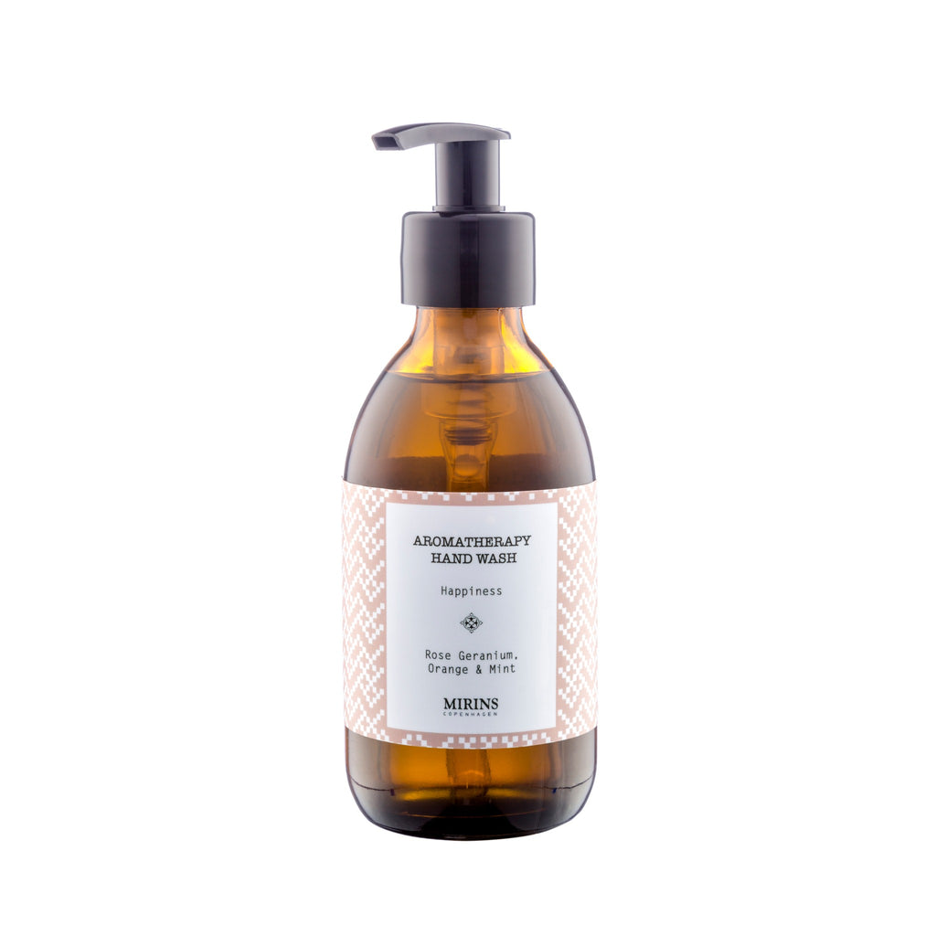 Hand Wash - Happiness - Rose Geranium, Orange & Mint