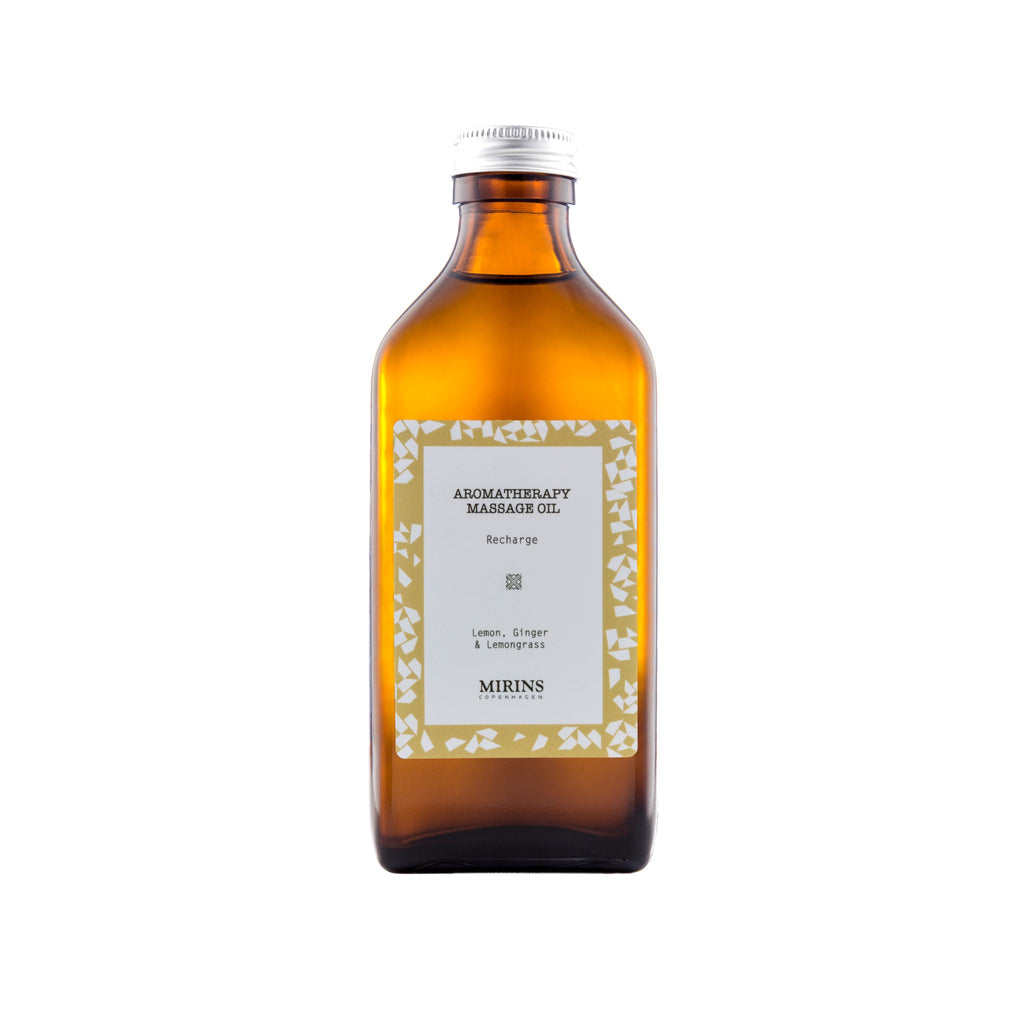 Massage Oil - Recharge - Lemon, Ginger & Lemongrass