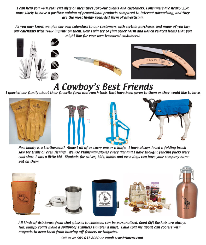Cowboy Toys Promotional Products – Tim Cox