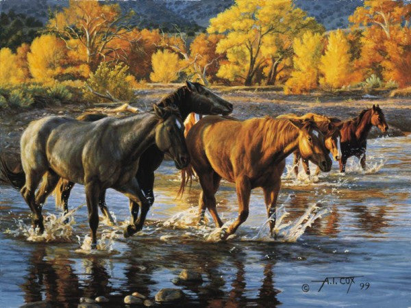 HORSES OF THE CREEK