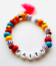 Load image into Gallery viewer, African Faith Beaded Bracelet