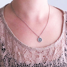 Load image into Gallery viewer, Typewriter Initial Necklace