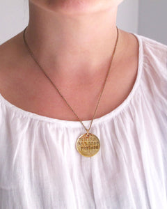 'Sisters are Best Friends' Necklace