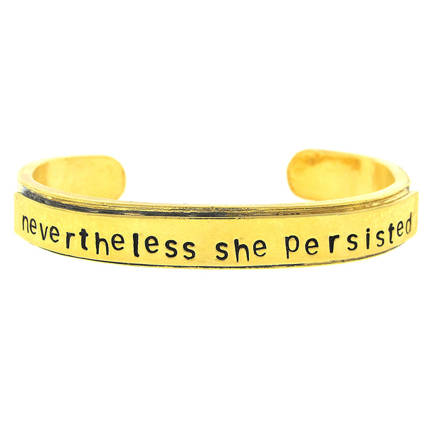 'Nevertheless She Persisted' Cuff