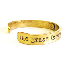 Load image into Gallery viewer, 'The Grass is Greener' Cuff