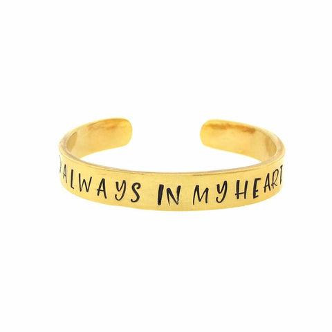 'Always In My Heart' Cuff
