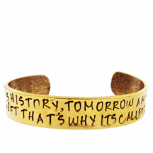'Yesterday is History' Cuff