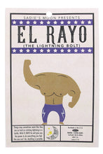 Load image into Gallery viewer, 'El Rayo' The Lightning Bolt Luchador Resin Necklace