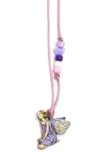 Load image into Gallery viewer, Purple Fairy Little Lessons Necklace