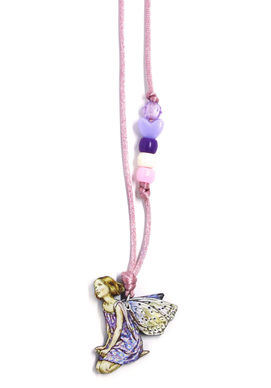 Purple Fairy Little Lessons Necklace