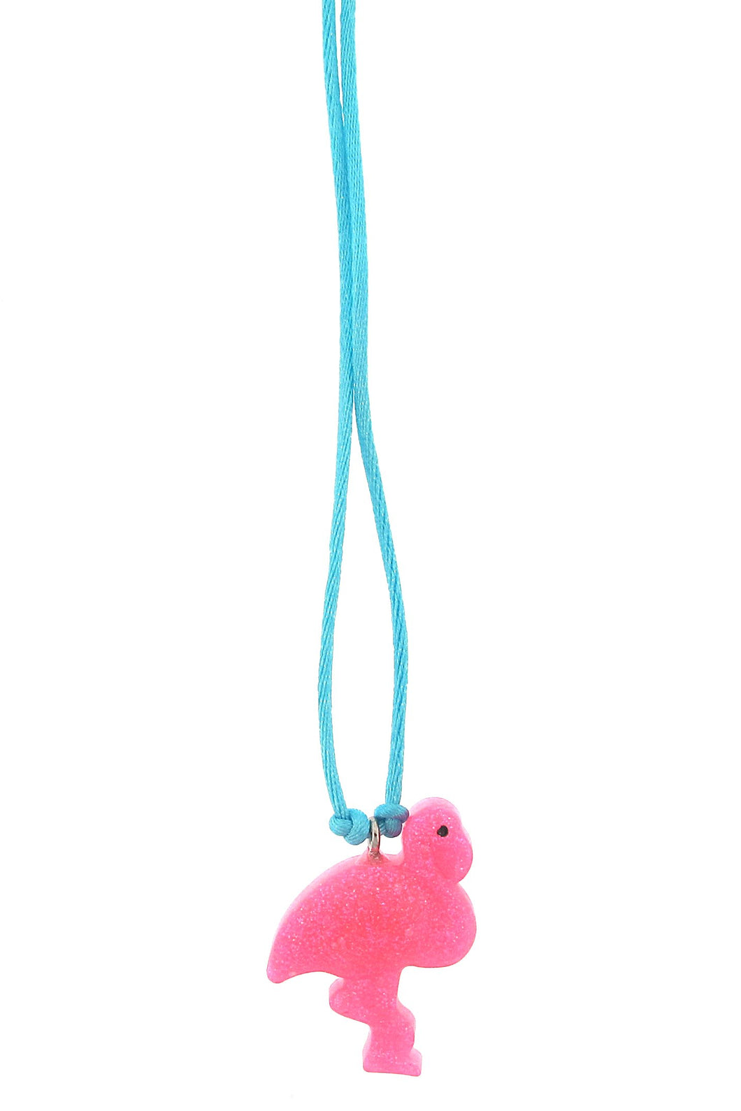 Flamingo Mini Resin Necklace