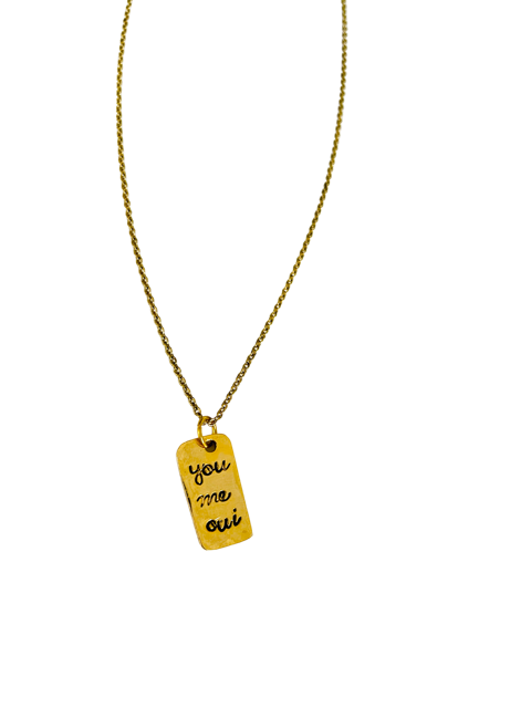 You Me Oui Necklace
