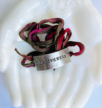 Load image into Gallery viewer, Forgiveness Silk Wrap Bracelet