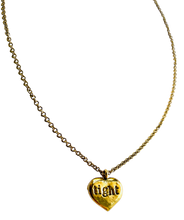 Load image into Gallery viewer, Hold On Tight Stamped Necklace