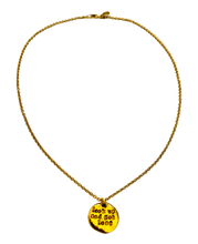 Load image into Gallery viewer, Look Up and Get Lost Stamped Necklace