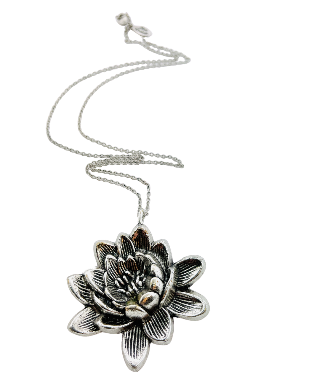 Lotus Flower Necklace Necklace
