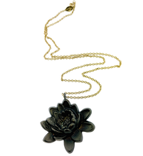 Load image into Gallery viewer, Lotus Flower Necklace Necklace