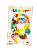 Load image into Gallery viewer, Be Happy Ice Cream Beaded Necklace