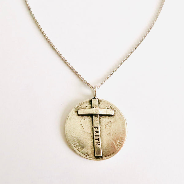 Faith Stamped Necklace