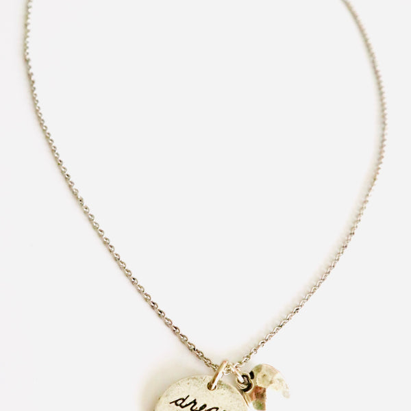 Drem Big with Heart Charm Necklace