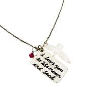 Load image into Gallery viewer, I love you To the Moon and Back Necklace