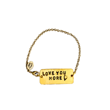 Load image into Gallery viewer, Love You More Chain Bracelet