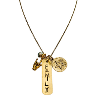 Load image into Gallery viewer, Family Charm Necklace