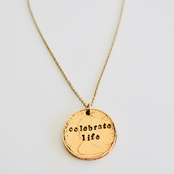 CELEBRATE LIFE NECKLACE