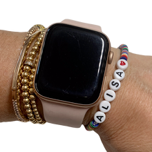 Load image into Gallery viewer, Sweet Vulcanite Word Bracelet