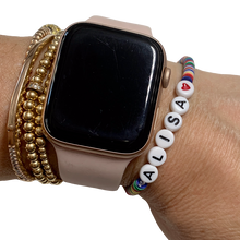 Load image into Gallery viewer, Girl Gang Vulcanite Word Bracelet
