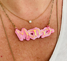 Load image into Gallery viewer, Personalized Acrylic Necklace