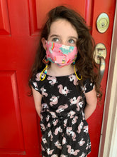 Load image into Gallery viewer, Girl Boss Paracord Mask Chain Kids or Adults