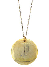 "Load image into Gallery viewer, ""Heals Body And Spirit (Dedicated To Odin The Central God Of The Runes)"" Rune Necklace"