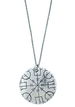 "Load image into Gallery viewer, ""Helm Of Empowerment"" Rune Necklace"