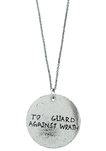 'To Guard Against Wrath' Rune Necklace