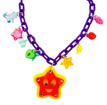 Load image into Gallery viewer, Charm-Tastic Star Necklace