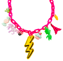 Load image into Gallery viewer, Charm-Tastic Lightening Bolt Necklace
