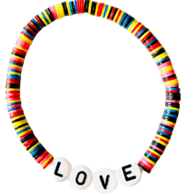 Load image into Gallery viewer, Love Vulcanite Word Bracelet