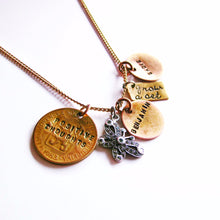 Load image into Gallery viewer, Personalized Hand Stamped Necklace