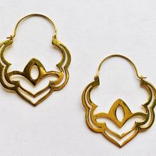 Load image into Gallery viewer, Brass Handmade Earrings