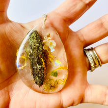 Load image into Gallery viewer, One Of a Kind Healing Resin Terrarium Necklace