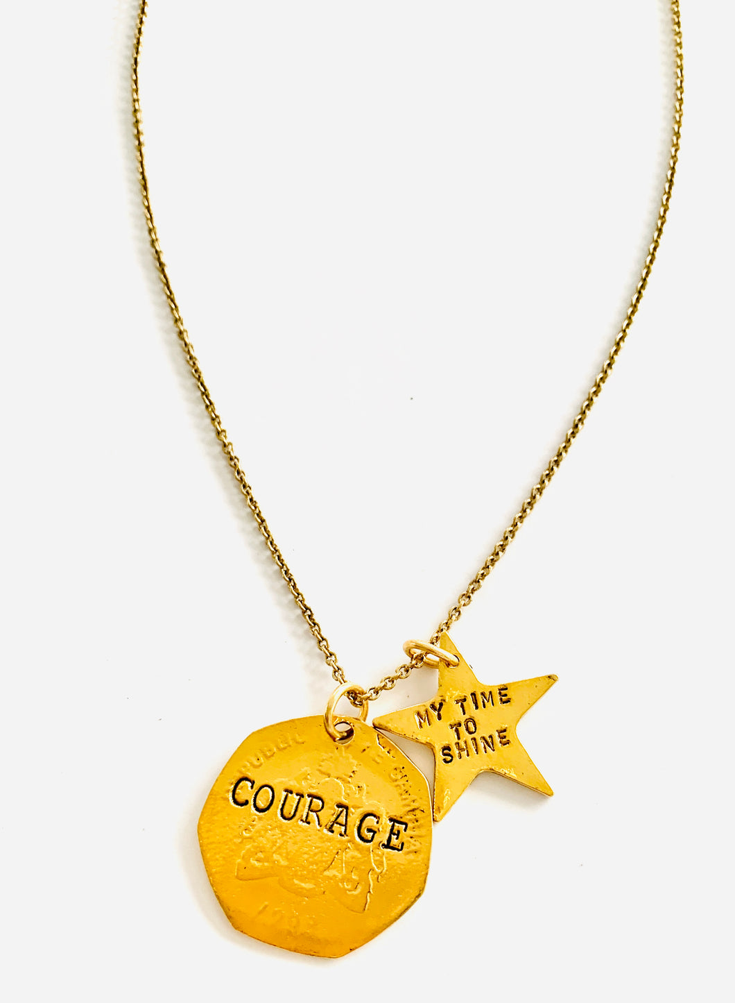 Courage/ My time to Shine Necklace