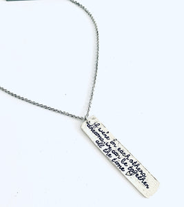 If We are in Each Other's Dreams Necklace
