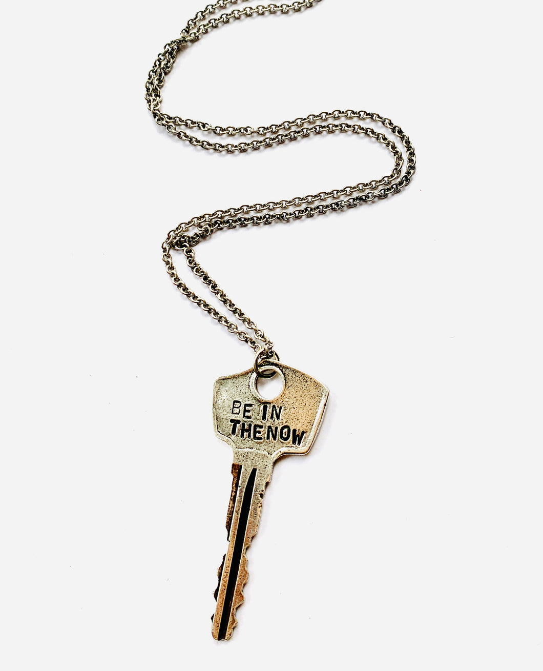 BE IN THE NOW KEY NECKLACE