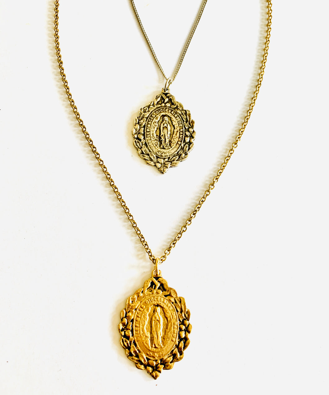 Lovely Religious Pendant Necklace