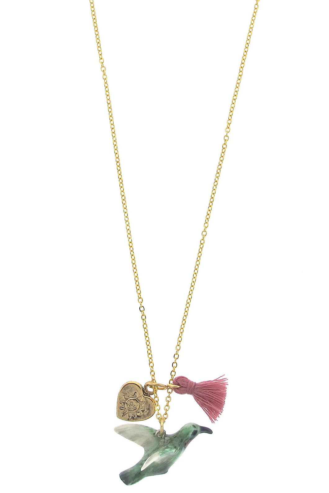 Sparrow Lil' Critters Necklace