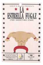 Load image into Gallery viewer, 'La Estrella Fugaz' The Shooting Star Luchador Resin Necklace