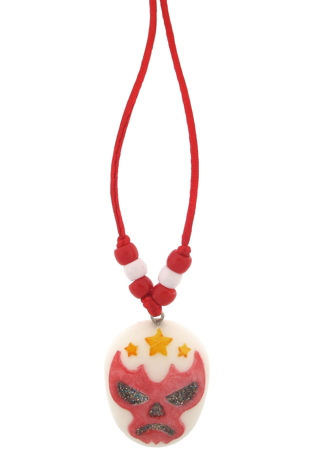 'La Estrella Fugaz' The Shooting Star Luchador Resin Necklace