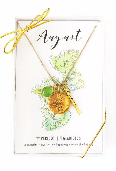 August Celebration Necklace